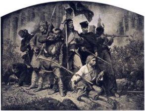 Artur Grottger Bitwa a